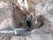 down the shaft mining at mooralla vic