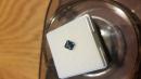 2nd shot of finished princess cut sapphire