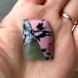 Frankenstone - Rhodonite, Snowflake Obsidian and ?