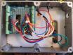 Encoder box internal view
