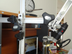 T bar scope stand