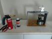 Old wax heating setup
