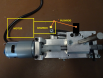 Oscillator motor position