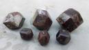 Dodecahedron garnmet crystals