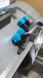 Cabbing wheel water drip system