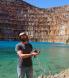 Hunting uranium ore at Mary Kathleen
