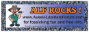 ALF bumper sticker