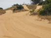 track up to pennyfather river along dunes